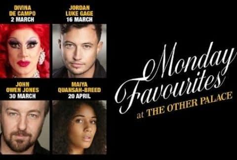 Monday Favourites at The Other Palace: John Owen Jones