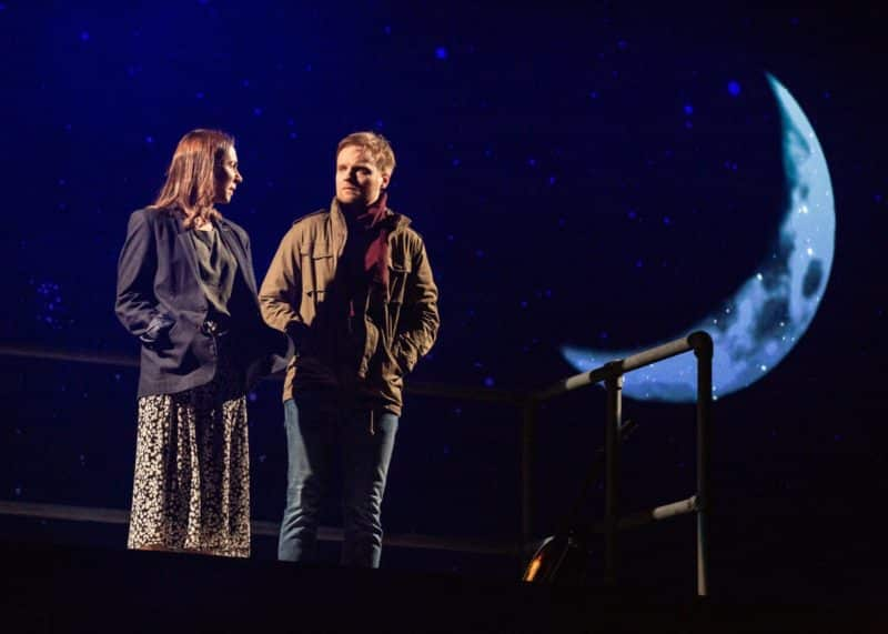 Emma Lucia as Girl and Daniel Healy as Guy